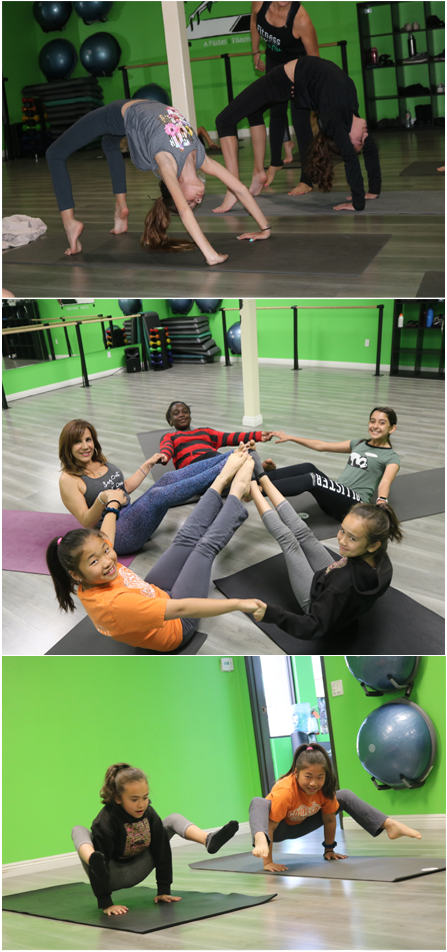 Youth Pilates and Yoga